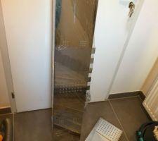 Réception de notre colonne de douche !  Une bonne affaire grâce à la black friday ?