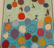 gros plan du tableau qui nous a servi de point de depart pour le choix des couleurs et style