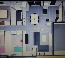 voila le plan 3d definitif apres la map