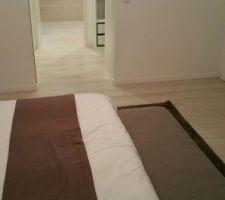 vue chambre dressing et salle d eau