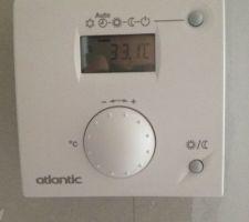 température au plus haut