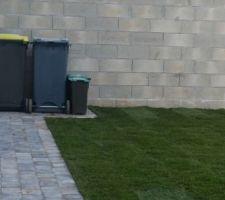 emplacement poubelles