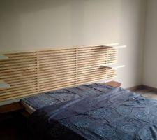 Installation de la chambre