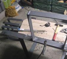 Structure des 2 petites table basse