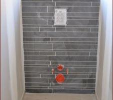 Faïence bâti WC suspendu