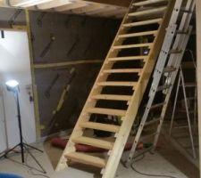 Escalier provisoire 3