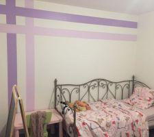 Voici quelques photos de la chambre de ma louloute.
