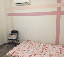 Voici quelques photos de la chambre de ma 2e fille.