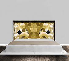 idee tete de lit pour la chambre de ma fille ainee