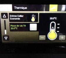 info sur tydom 4000 consigne avec la possibilite d ajuster la temperature