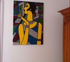 une nouvelle peinture pour l anti chambre