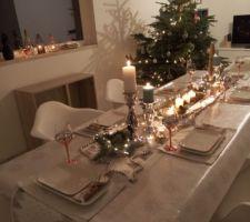 decoration de table noel 2016