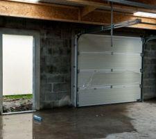 Vue inter porte garage secondaire