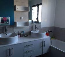 La salle de bain des enfants