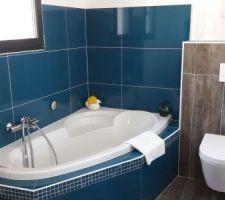 Salle de bain sur mezzanine