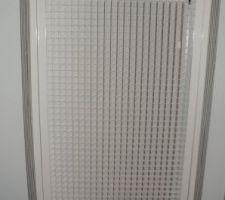 Déco de la grille de mon chauffage et clim (C'est du gainable)