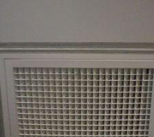 deco de la grille de mon chauffage et clim c est du gainable