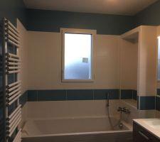peinture salle de bain bleu baltique leroy merlin