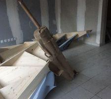 livraison des escaliers j ai hate qu ils soient montes pour decouvrir les etages