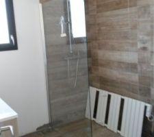 paroi douche dans salle de bain