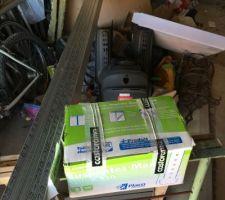le garage avant le projet