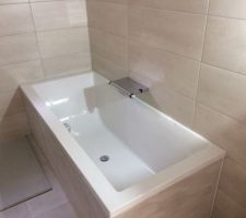 Mitigeur de bain thermostatique Aparu de Jacob Delafon