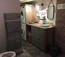 salle de bain buanderie
