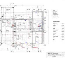 Plan de maison moderne à colomiers rdc