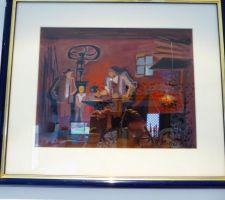 Une autre des peintures du hall d'entrée