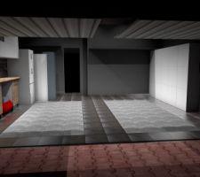 modelisation de l amenagement du garage