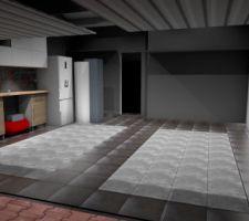 plan 3d projet garage