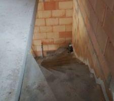escaliers beton