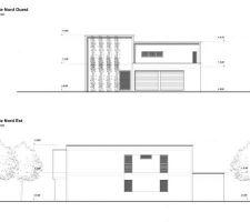 Plan maison et vue extérieur