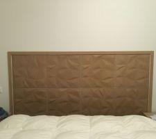 tete de lit en fibre de bois reconstitue