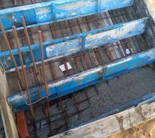 Coulage de l'escalier