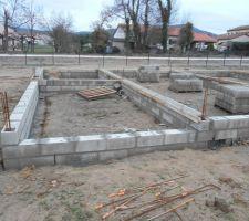 Vide sanitaire en construction 1er jour