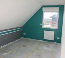Peinture chambres enfants terminée