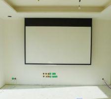 installation ecran vp encastre