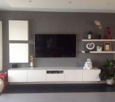 Salon avec la tele