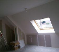 chambre du fils plafond termine