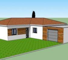 Vue 3D proposée par NATILIA