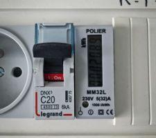 Compteur polier pour panneaux photovoltaique