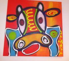 tableau offert avec l achat du tableau representant la porsche