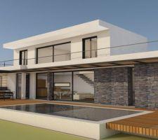 Plan maison Opio