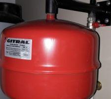 Pose équipements vase d'expansion chauffage