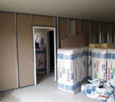 Cloison Garage - Cellier