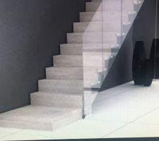 Escalier souhaité