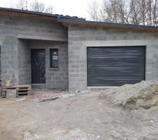 Porte de garage Novoferme motorisée