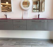 meuble vasque salle de bain principale