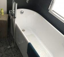 salle de bain ouverte finie